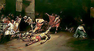 "the world-renowned ""Spoliarium"" by Juan Luna"