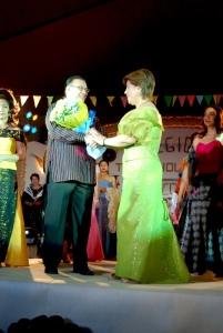 Gov. MMK and Kannawidan Foundation's Ms. Lita Marcos Roque