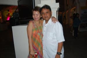 childhood friend, Assistant Provincial Tourism Officer Joegie Jimenez