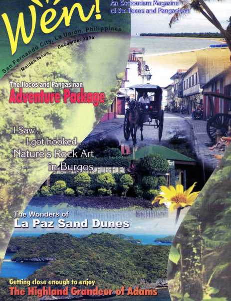Wen! An Ecotourism Magazine of the Ilocos and Pangasinan
