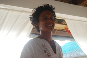 Benedict, one of Kapuluan's friendly and efficient staff