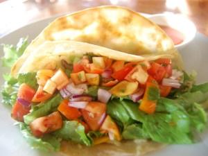 a vegetarian delight, Hummus Burrito