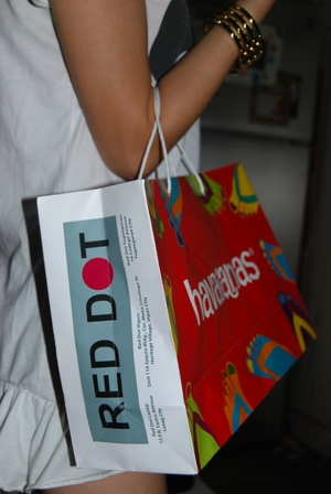 Red Dot, the authorized dealer of The Original Havaianas in Ilocos