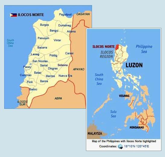 Bordered by Ilocos Sur