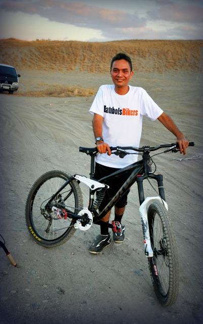 "Batibols Bikers ""principal"" Jackie de la Cruz:)"